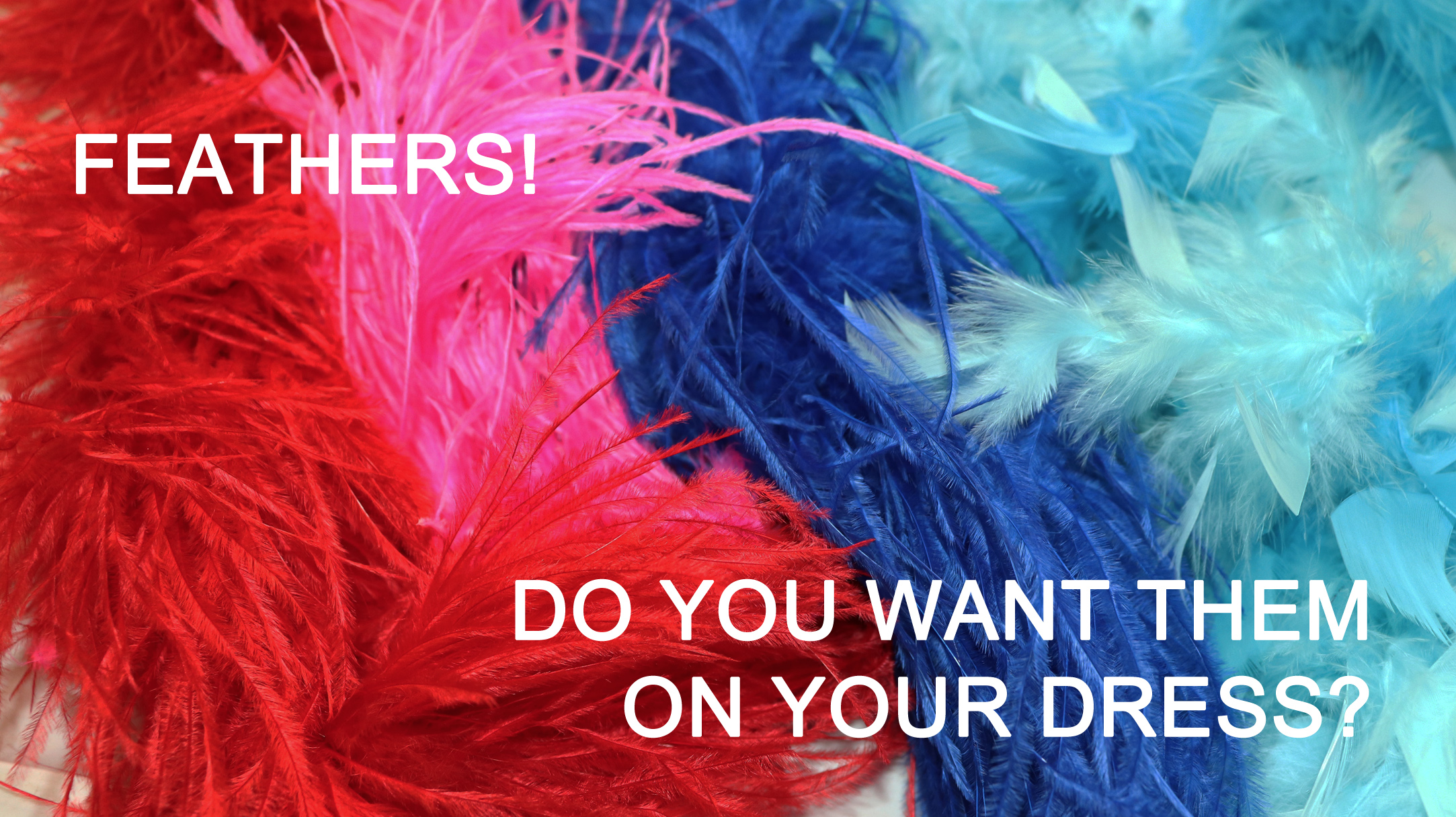 Feathers Are Trending. Do You Want Them On Your Dress?