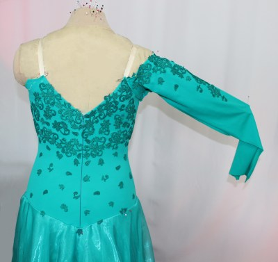 Decorate your ballroom, Latin, Country, Ice or roller skating costume with lace