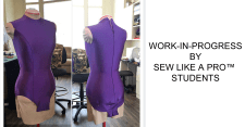 The online sewing school to sew mesh, skirt yokes, fringe