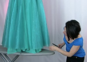 trimming skirt