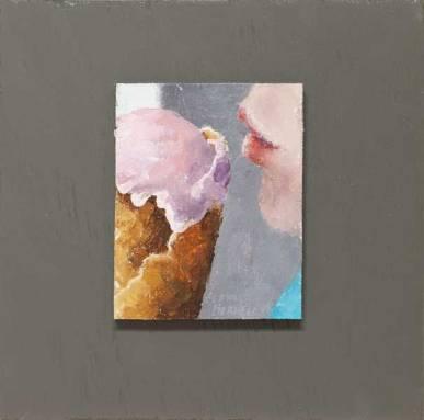 Cone-Kiss-Painting-Seamus-Berkeley