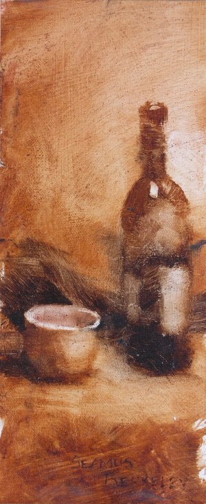 Bottle-of-Wine-painting-Seamus-Berkeley