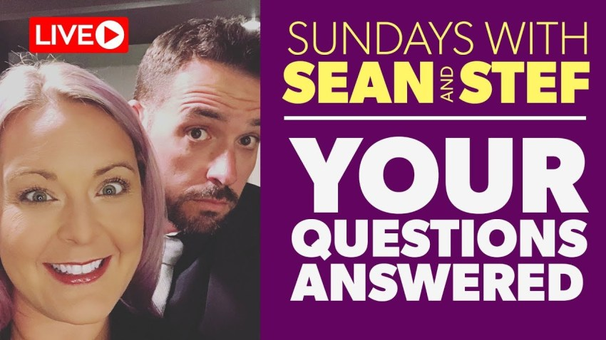 EP2: Sundays with Sean and Stef | LIVE Ask Us Anything