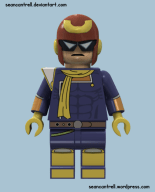 Lego Captain Falcon