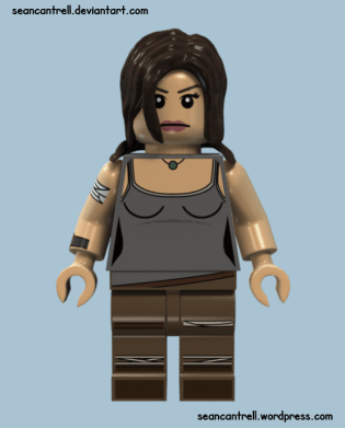 Lego Lara Croft