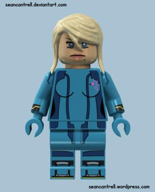 Lego Zero Suit Samus