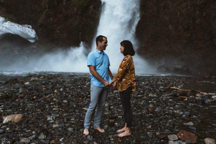 Franklin Falls WA engagement