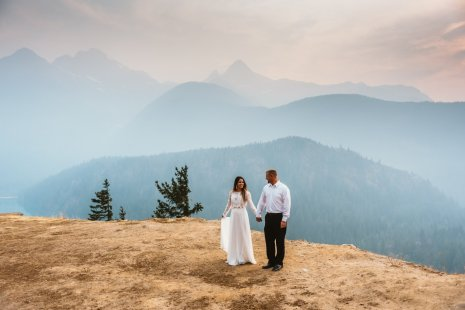 Diablo Lake Engagement Session