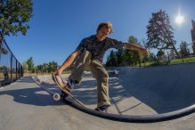 Chris Klich Front Smith Tail Grab