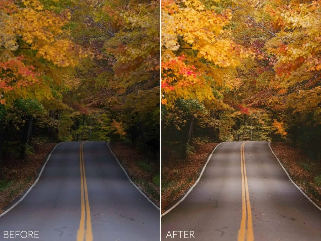 Autumn Glow Preset Pack