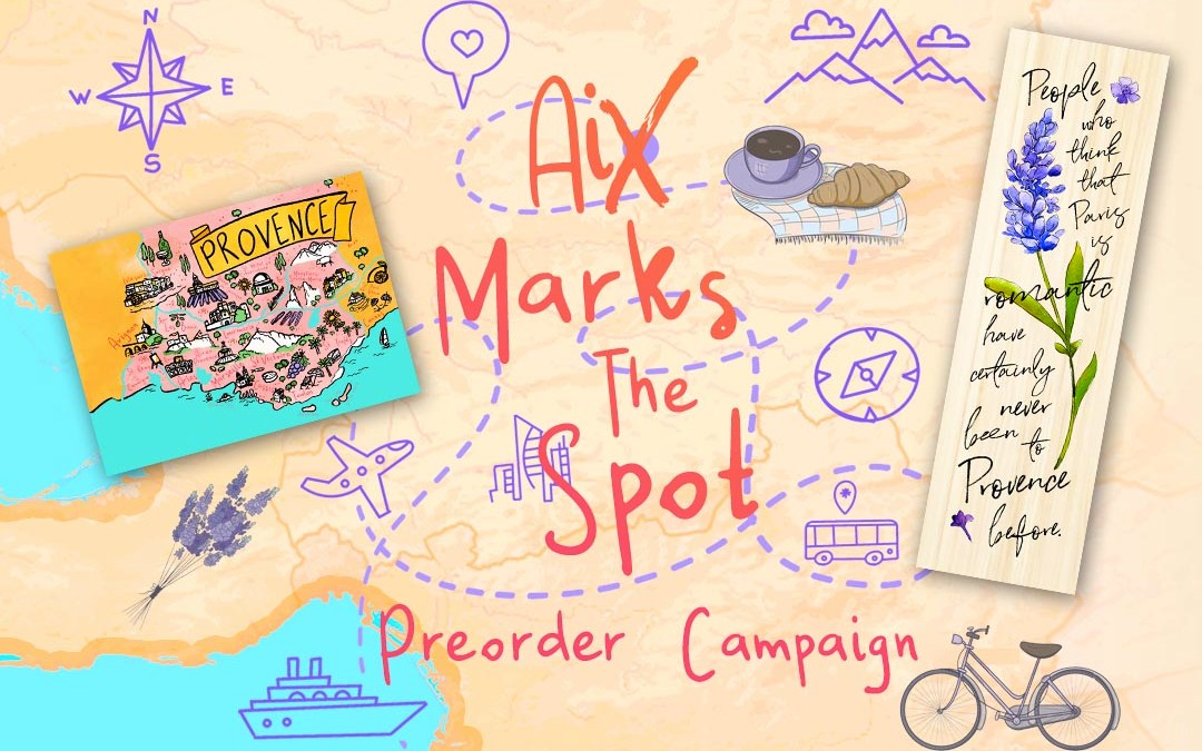 Aix Marks the Spot Preorder Goodies
