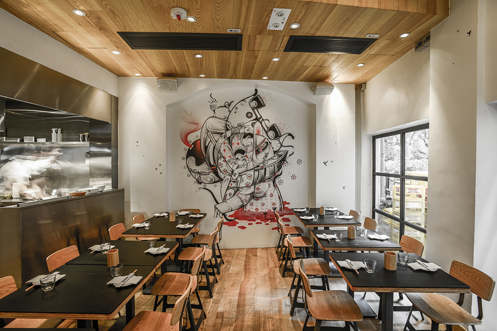 Yardbird Restaurant Interior Architecture Amp Design Sean Dix