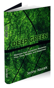 """Cover of """"Deep Green"""", a book by Jenny Nazak"""