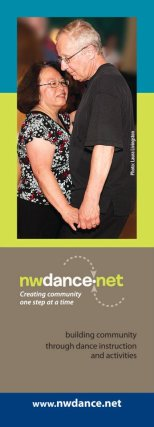 NW Dance Network bookmark (reverse)