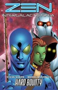 Zen: Intergalactic Ninja (1First) (Trade Cover) Lineart: Marat Mychaels, Colors: Sean Forney