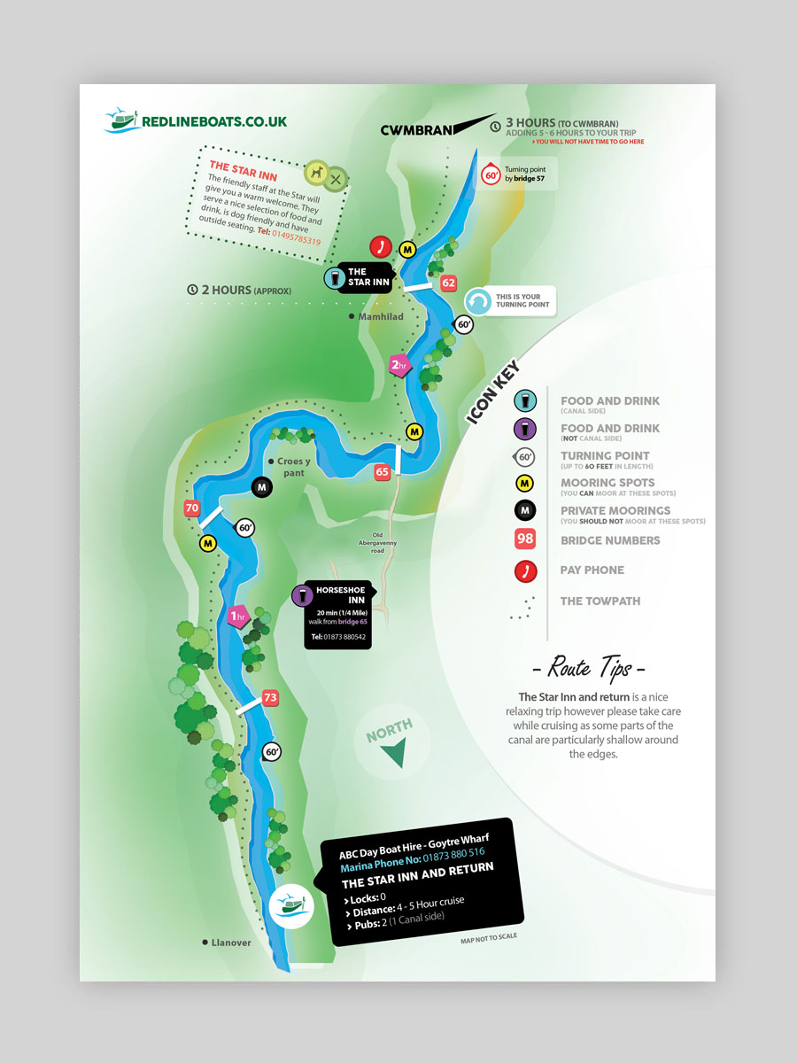 Day Boat Hire Maps
