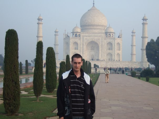 First time out of Europe and 2nd day in India 2009