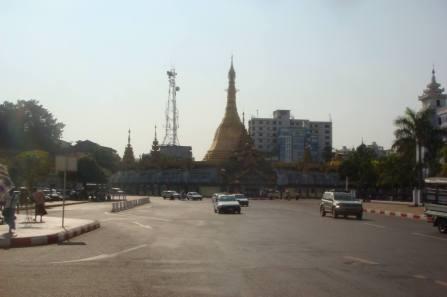 Pagoda in Yangon