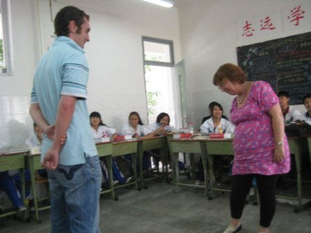 Teaching English in a Chinese school 2010