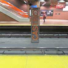 The Muni Metro Station