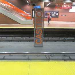 The Muni Metro Station