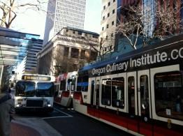 Wandering around downtown Portland