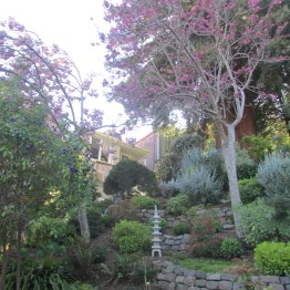 Garden near the foot of Vulcan Street