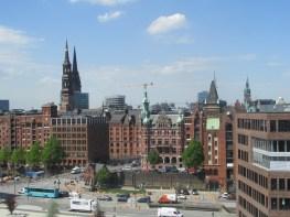 A view of Hamburg