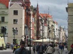 "The ""Wide Street' In Torun, Poland"