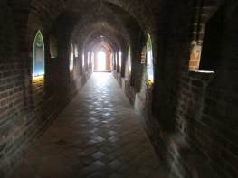In the Teutonic Castle, Torun, Poland