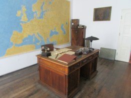 Schindler's office and desk