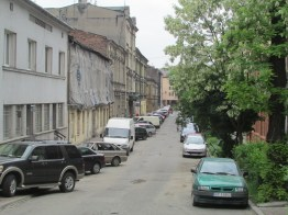 Ghetto street