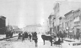 Winnipeg, Manitoba, Main Street (1882)