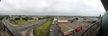 View from the balcony of room 702 in The Beacon Hotel