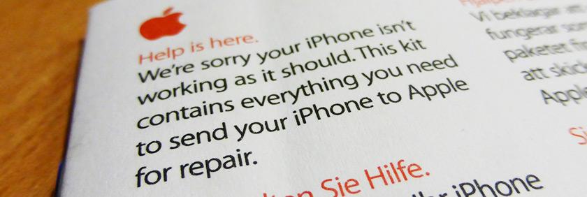 iPhone 5 in for repair