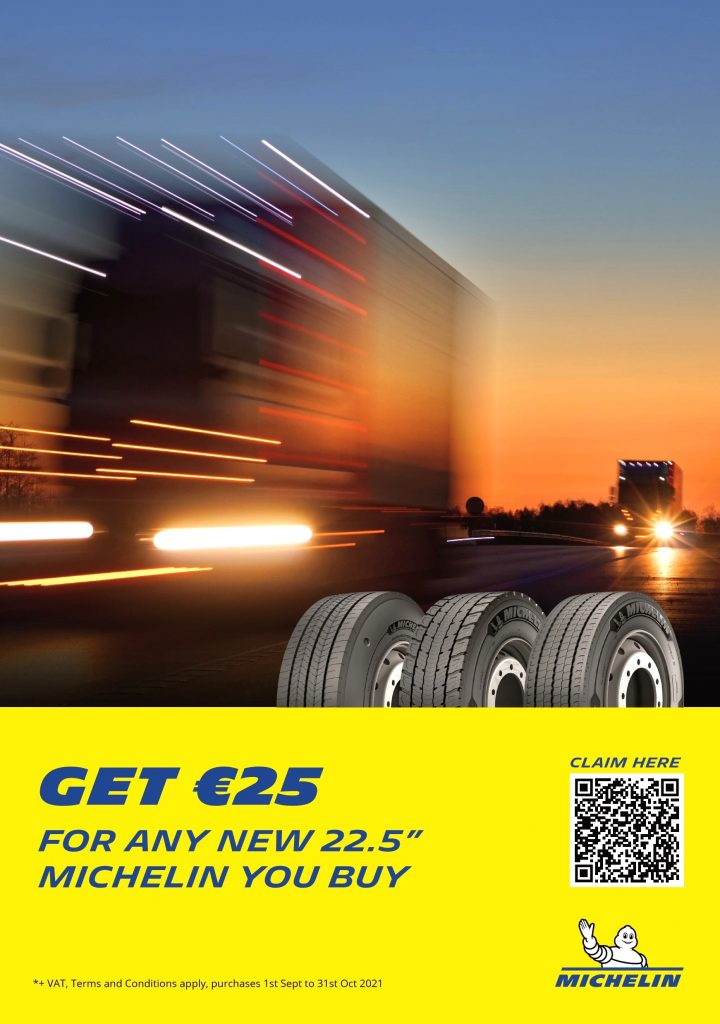 Get 25 for any new Michelin you buy.
