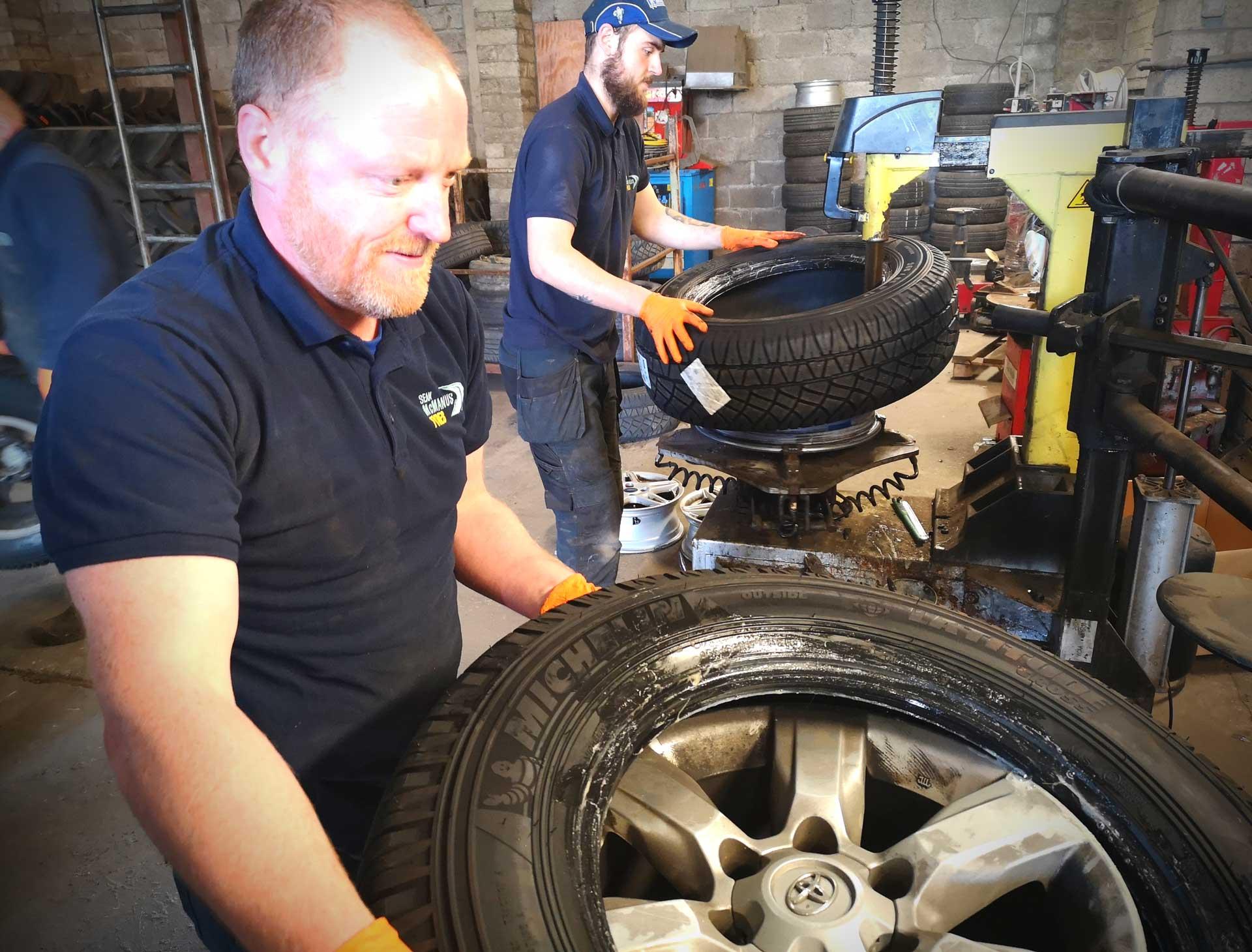 Breakdown Assistance - Sean McManus Tyres
