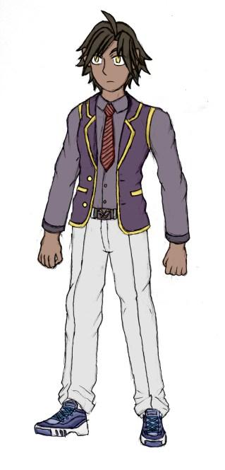 Solomon School Uniform Semi-Colored