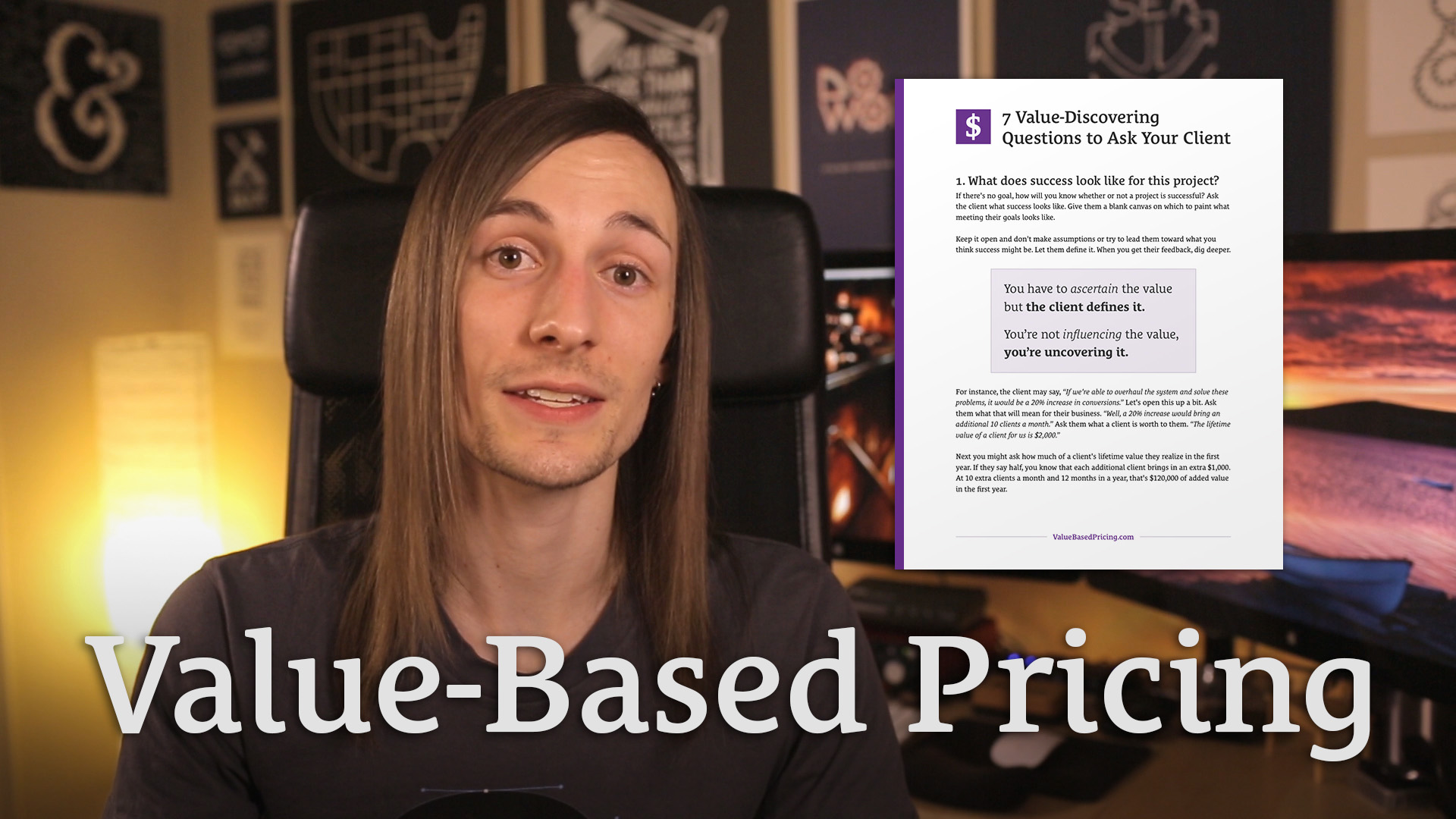 059 Value Based Pricing