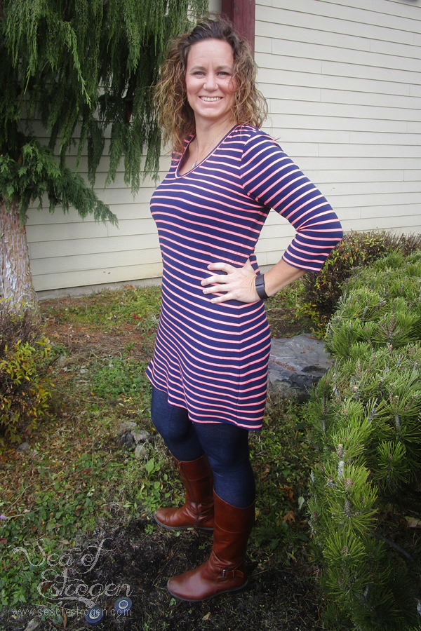 Maggie Top, Tunic, & Dress by Bella Sunshine Designs
