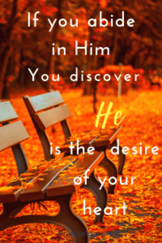 He is the desire of your heart