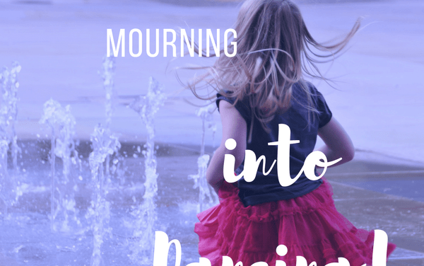 He Can Turn Our Mourning Into Gladness