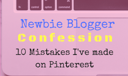 Newbie Pinterest Mistakes to Avoid