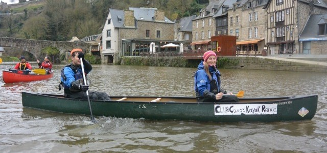 A Brittany weekend: Canoeing in Dinan