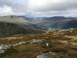 Meall nam Maigheach summit