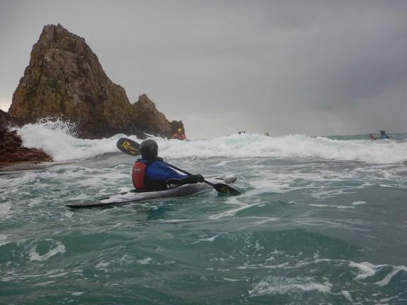 Kayaking Contrasts