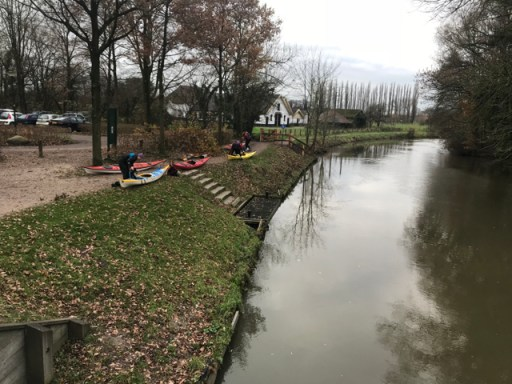 Urban kayaking