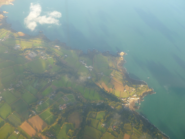 Jersey aerial photo