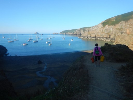 Return from Sark