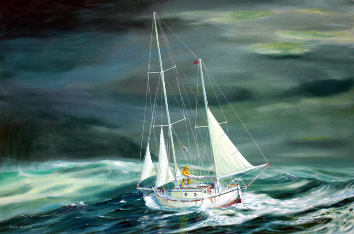 Suhaili Knox Johnson marine art jack woods